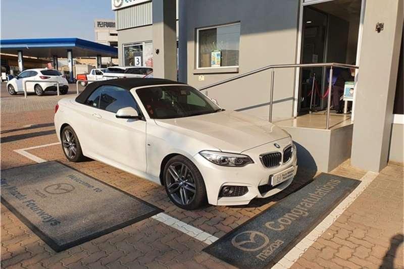 2018 BMW 2 Series 220i convertible M Sport auto