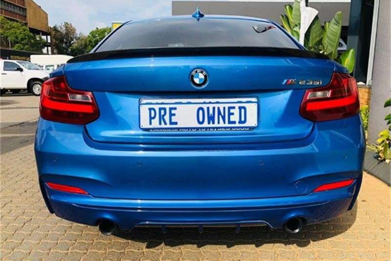 Used 2015 BMW 2 Series M235i coupe auto