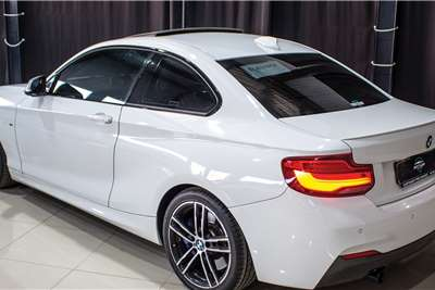 Used 2018 BMW 2 Series M240i coupe sports auto