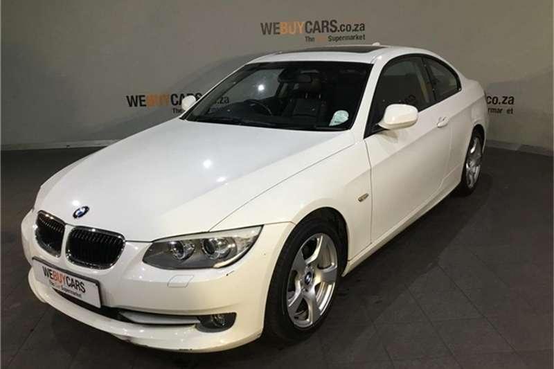 BMW 3 Series 320i coupé auto 2012