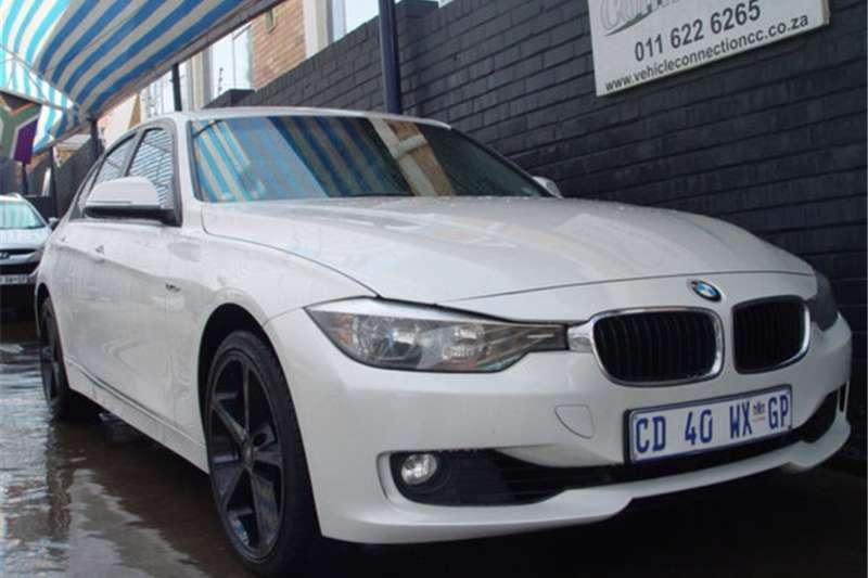 BMW 3 Series 320i M Sport sports auto 2012