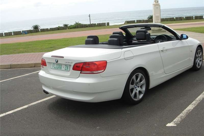 BMW 3 Series 330i convertible Exclusive steptronic 2009