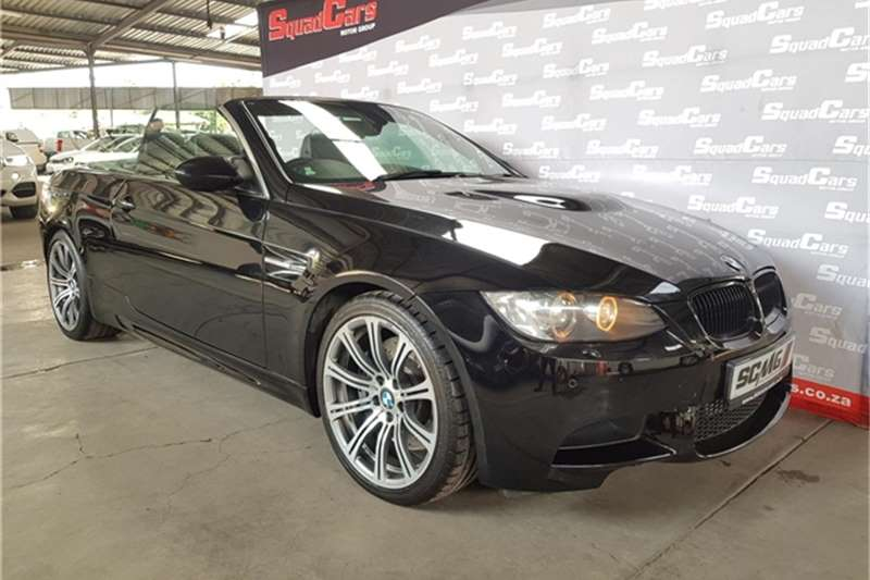 2011 BMW 3 Series M3 convertible M Dynamic auto
