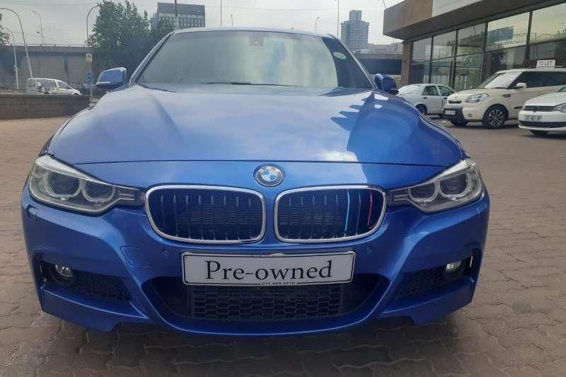 BMW 3 Series sedan Automatic Blue 2015