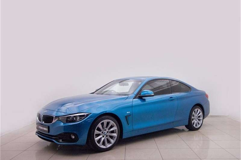 BMW 4 Series 420d coupe auto 2018