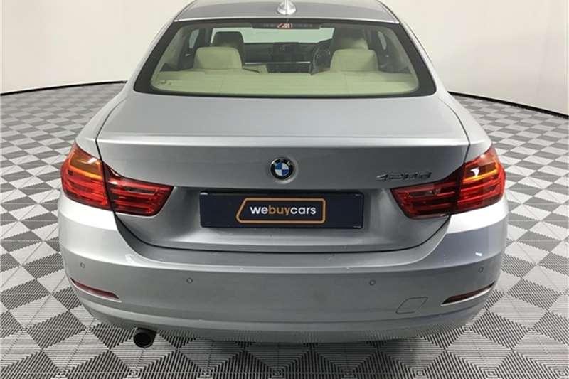 BMW 4 Series 420d coupe Luxury auto 2015