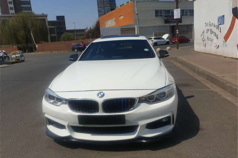 Used 2017 BMW 4 Series 420d coupe Luxury auto