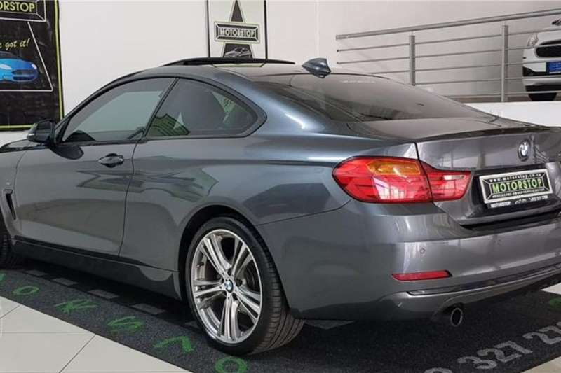 Used 2014 BMW 4 Series 420d coupe M Sport