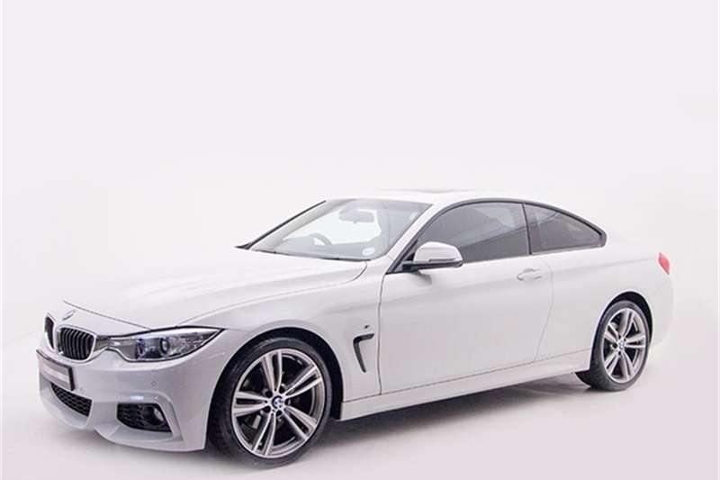 BMW 4 Series 420d coupe M Sport 2015