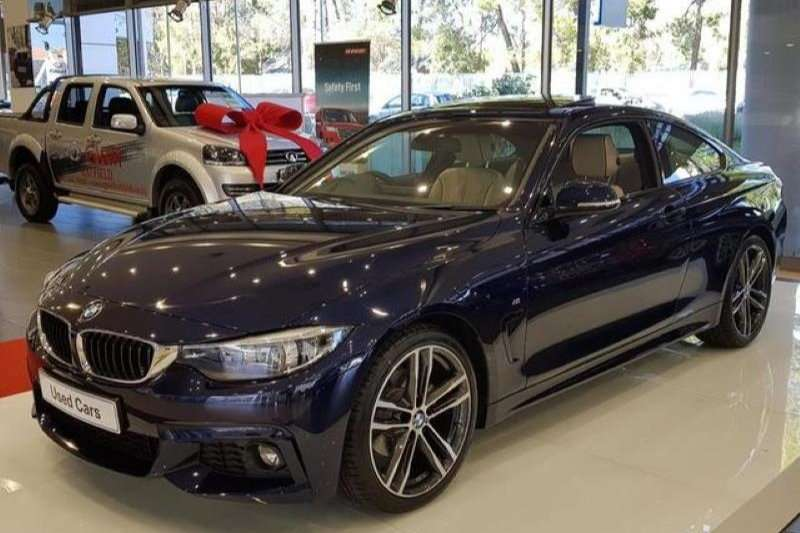 BMW 4 Series 420d coupe M Sport 2019