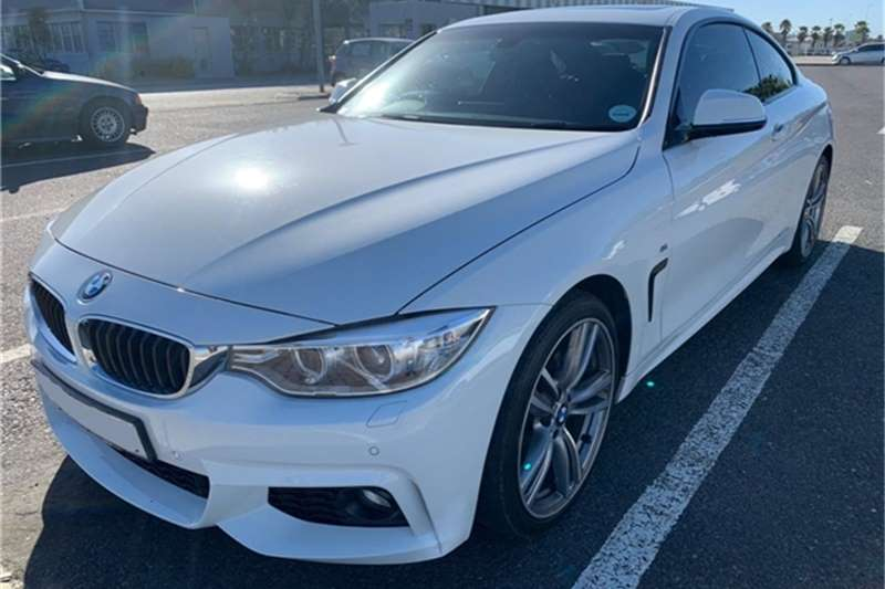 BMW 4 Series 420d coupe M Sport auto 2014