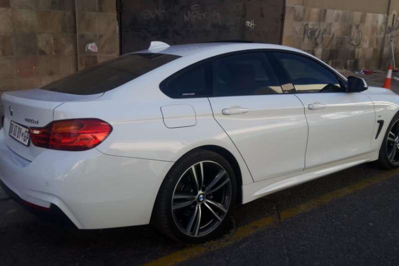 BMW 4 Series 420d coupe M Sport auto 2015