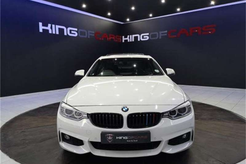 Used 2015 BMW 4 Series 420d coupe M Sport auto