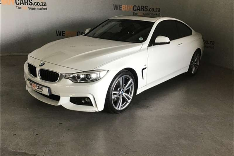 BMW 4 Series 420d coupe M Sport auto 2016