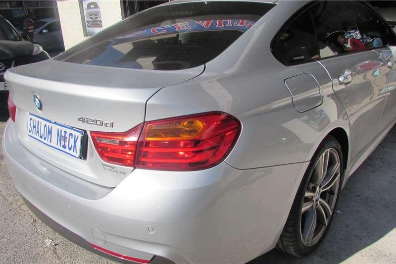 BMW 4 Series 420d coupe Sport Line auto 2015
