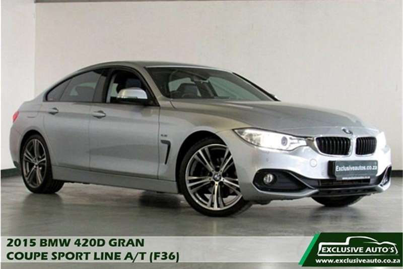 BMW 4 Series 420d Gran Coupe Sport auto 2015