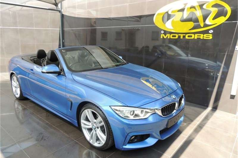BMW 4 Series 420i Convertible Auto 2015