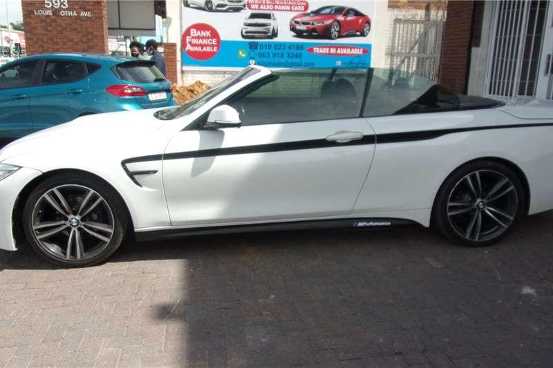BMW 4 Series 420i convertible M Sport 2016