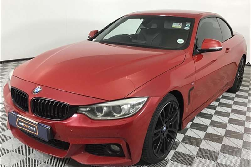 BMW 4 Series 420i convertible M Sport auto 2015