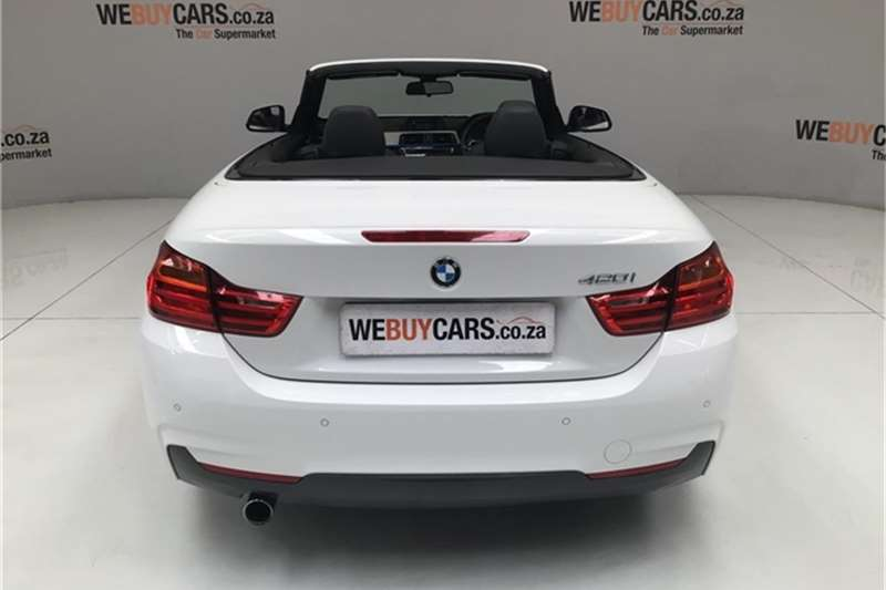 BMW 4 Series 420i convertible M Sport auto 2016