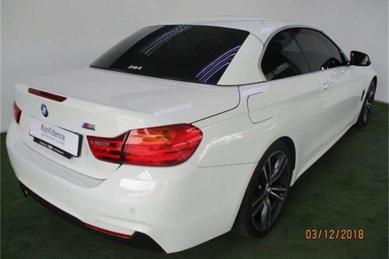 BMW 4 Series 420i convertible M Sport auto 2016
