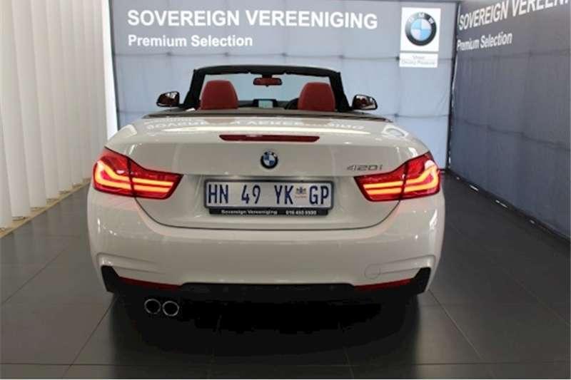 BMW 4 Series 420i convertible M Sport auto 2018