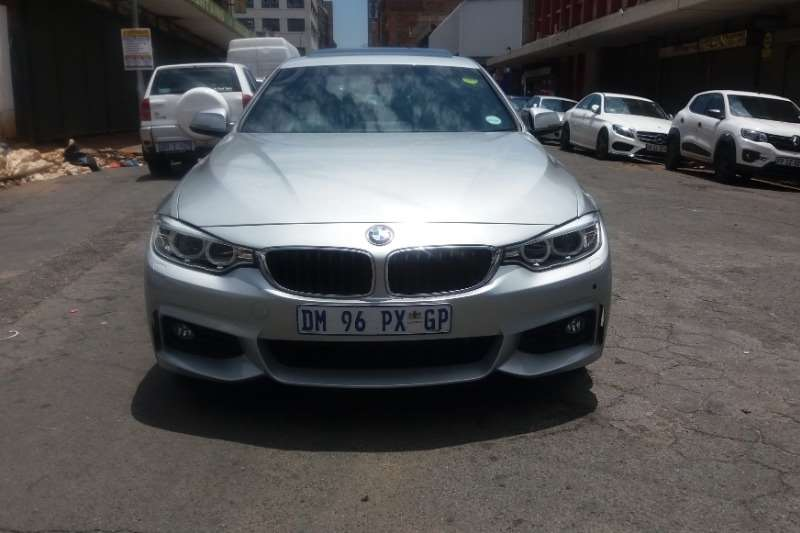 BMW 4 Series 420i convertible Sport auto 2015