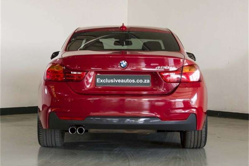 BMW 4 Series 420i coupe auto 2017