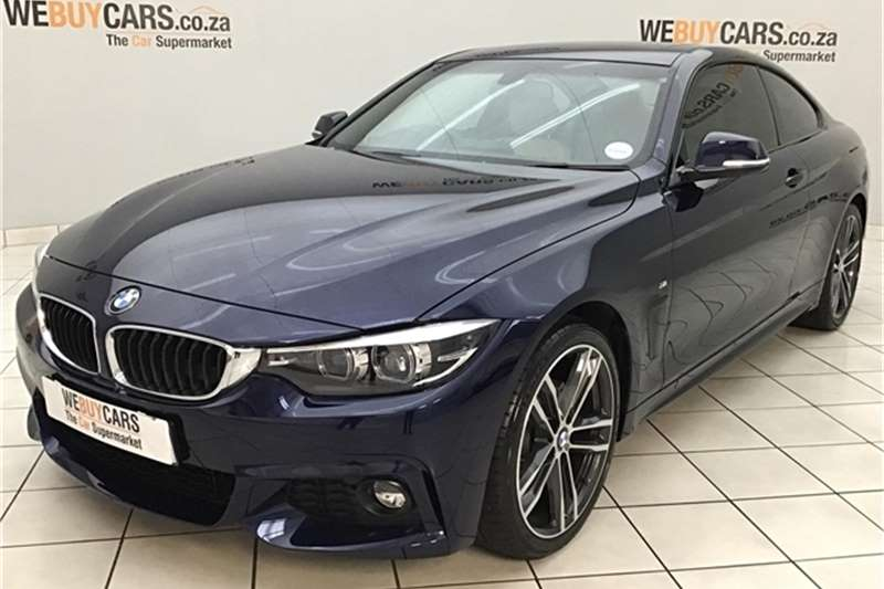 BMW 4 Series 420i coupe M Sport 2019