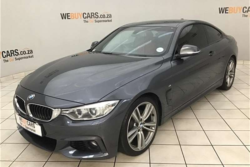 BMW 4 Series 420i coupe M Sport auto 2015