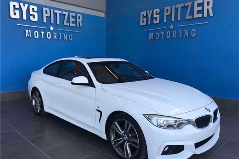 BMW 4 Series 420i coupe M Sport auto 2015