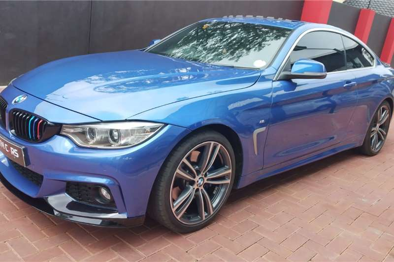 Used 2015 BMW 4 Series 420i coupe M Sport auto
