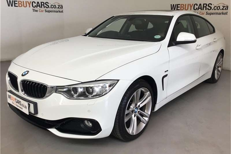 BMW 4 Series 420i coupe Sport auto 2015