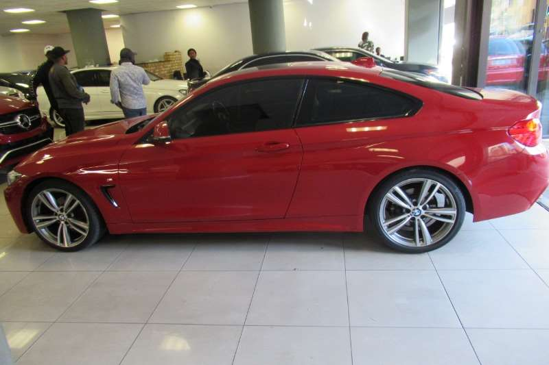 BMW 4 Series 420i coupe Sport Line auto 2013