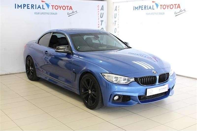 BMW 4 Series 428i Convertible M Sport Auto 2014