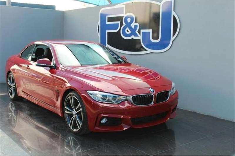 BMW 4 Series 428i convertible M Sport auto 2015