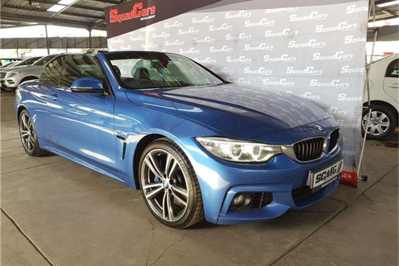 BMW 4 Series 428i convertible M Sport auto 2016