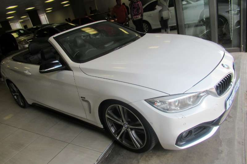 Used 2015 BMW 4 Series 428i convertible M Sport sports auto
