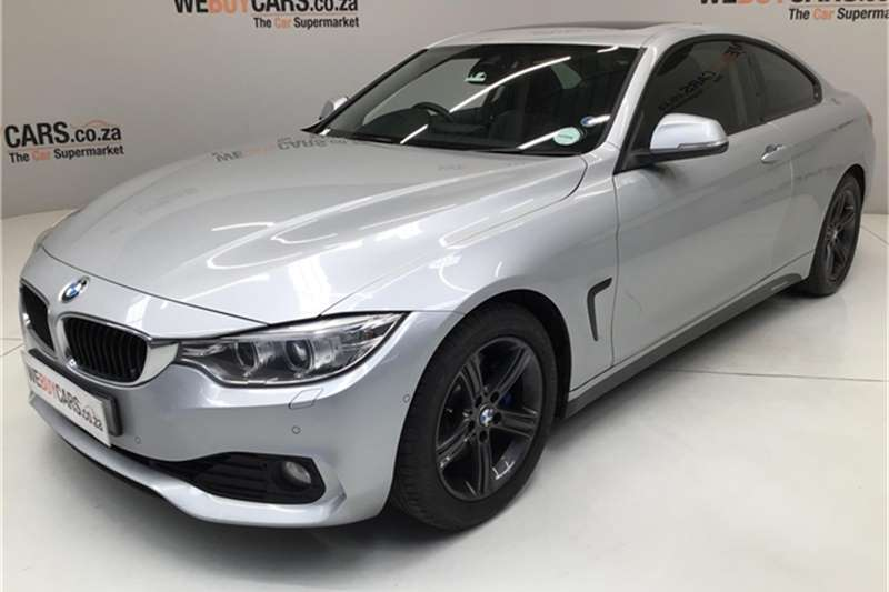 BMW 4 Series 428i coupe auto 2014