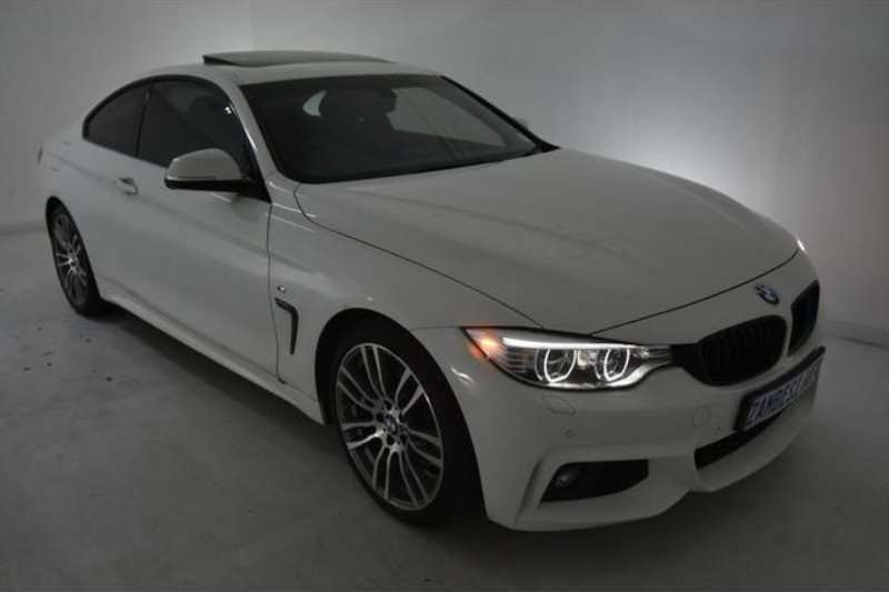 BMW 4 Series 428i coupe M Sport sports auto 2014