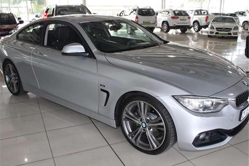 BMW 4 Series 428i coupe Modern auto 2014