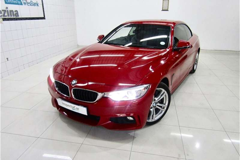 BMW 4 Series 435i Convertible M Sport 2014