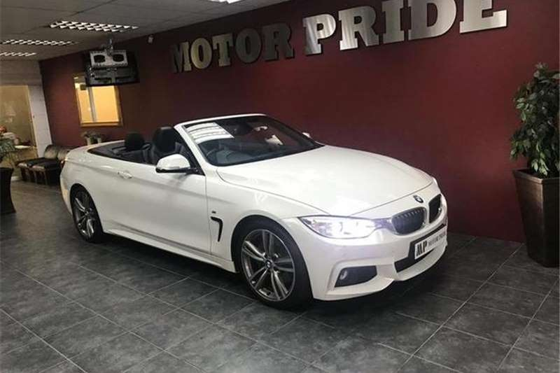 BMW 4 Series 435i Convertible M Sport 2015