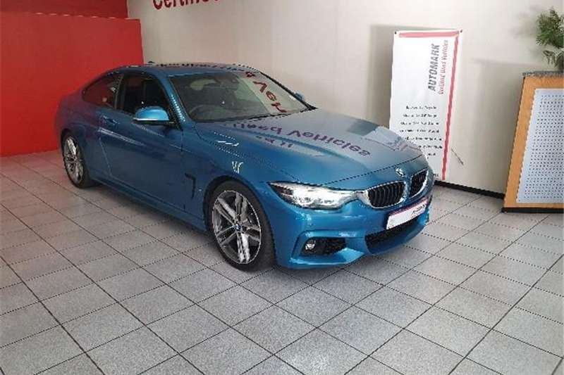 BMW 4 Series 440i coupe M Sport 2017