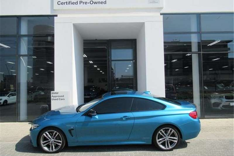 BMW 4 Series 440i Coupe Sport 2017