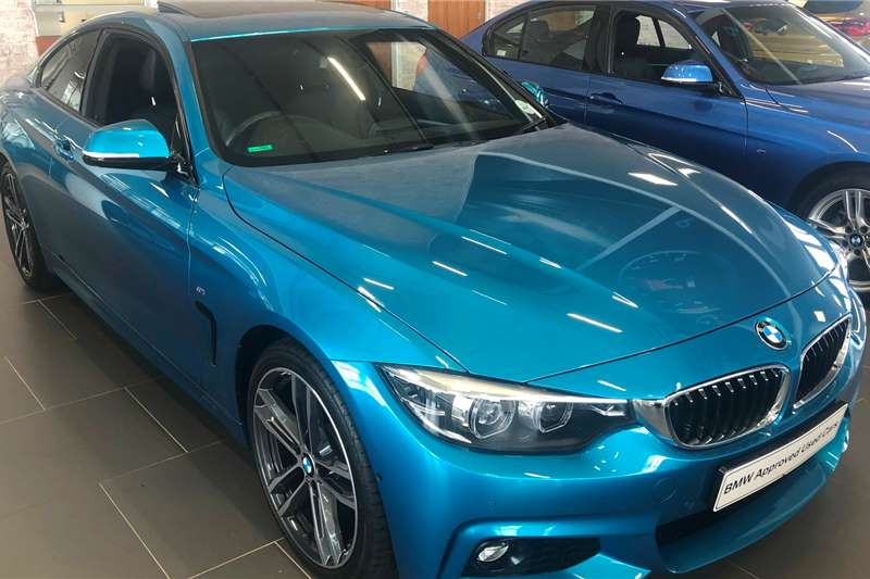 BMW 4 Series Coupe 420D COUPE M SPORT A/T (F32) 2019