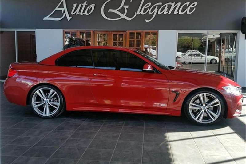 2015 BMW 4 Series 428i convertible M Sport auto
