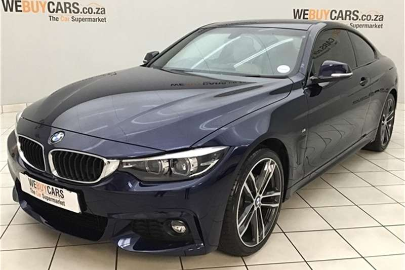 2019 BMW 4 Series 420i coupe M Sport