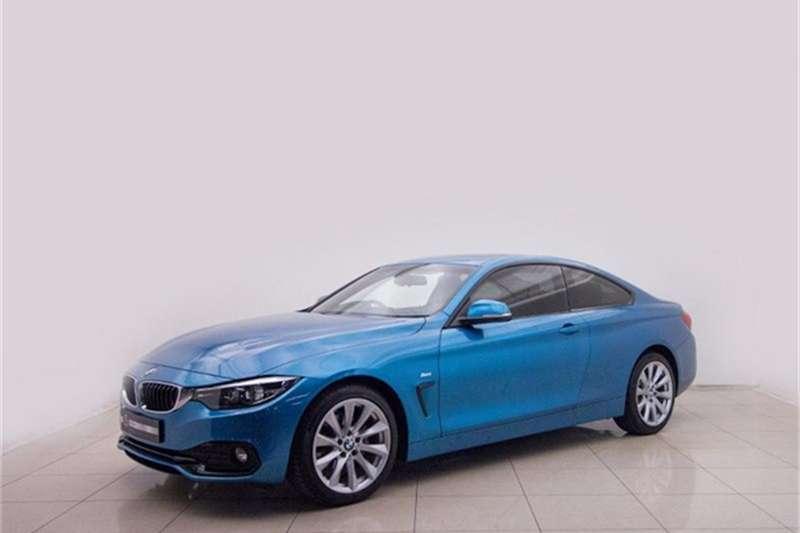 2018 BMW 4 Series 420d coupe auto