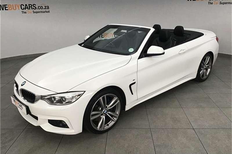 2014 BMW 4 Series 420i convertible